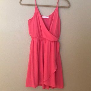 Bright Pink Lush Dress Size Small- Worn once!
